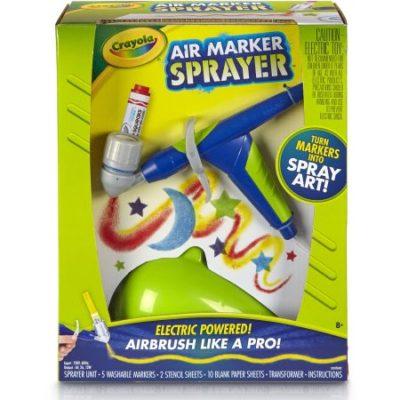 Walmart – Crayola Air Marker Sprayer Set, 18 Pieces Only $22.49 (Reg $29.97) + Free Store Pickup