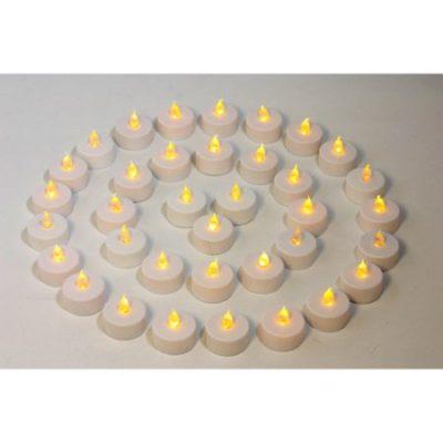 Walmart – Mainstays Flameless LED Tea Lights, 36-Pack Only $16.97 (Reg $17.97) + Free Store Pickup