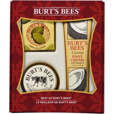 Walmart – Burt's Bees Best of Burt's Bees Holiday Gift Set, 3 Pc Only $10.27 (Reg $14.99) + Free Store Pickup