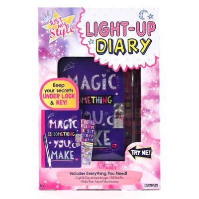 Walmart – Just My Style Light-Up Diary by Horizon Group USA Only $9.97 (Reg $12.97) + Free Store Pickup