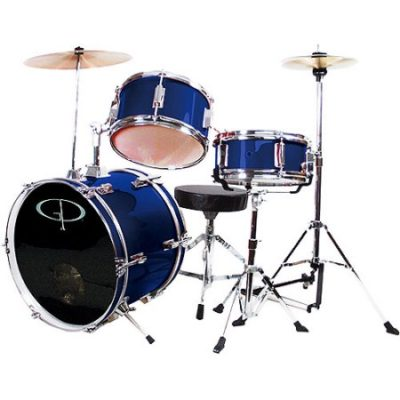 Walmart – GP Percussion 3-Piece Complete Junior Drum Set, Metallic Midnight Blue Only $119.96 (Reg $149.97) + Free Shipping