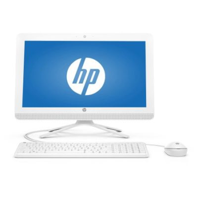 Walmart – HP Snow White 20-c143w All-in-One Desktop PC with Intel Pentium J3710 Processor, 4GB Memory, 19.5″ Monitor, 500GB Hard Drive and Windows 10 Home Only $249.00 (Reg $349.00) + Free Shipping