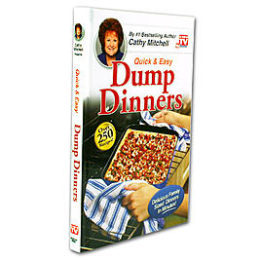 Kmart – As Seen On TV Dump Dinners Cookbook Only $3.99 (Reg $9.99) + Free Store Pickup