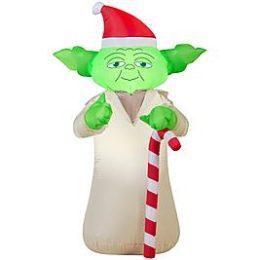 Kmart – Star Wars 3.5′ Airblown Yoda Christmas Decoration Only $21.59 (Reg $39.99) + Free Store Pickup