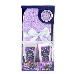 Sears – Tri-Coastal Lila Grace Cozy Sock Set – Lavender Vanilla Only $2.79 (Reg $6.99) + Free Store Pickup