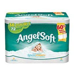 Kmart – Angel Soft Bath Tissue Double Rolls 36 Ct Only $14.99 (Reg $18.99) + Free Store Pickup