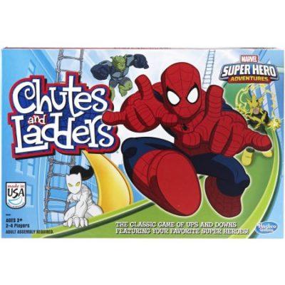 Walmart – Marvel Spider-Man Web Warriors Chutes & Ladders Game Only $7.97 (Reg $13.50) + Free Store Pickup