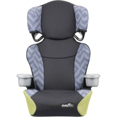 Walmart – Evenflo Big Kid Sport High Back Booster Seat, Goody Two Tones Only $27.88 (Reg $59.97) + Free Store Pickup