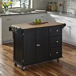 Sears – Home Styles Liberty Kitchen Cart w/ Wood Top Only $247.30 (Reg $289.99) + Free Shipping