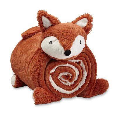 Sears – Kids' Cuddle Friend Throw & Pillow – Fox Only $24.99 (Reg $39.99) + Free Store Pickup