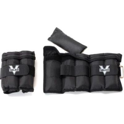 Walmart – Valeo Adjustable Ankle / Wrist Weights, Black Only $15.44 (Reg $21.09) + Free Store Pickup