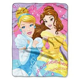 Sears – Disney Princess 46″ x 60″ Silk Touch Throw Only $19.99 (Reg $24.99) + Free Store Pickup