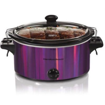 Walmart – Hamilton Beach Stay or Go 5-Quart Slow Cooker, Shimmer Finish Only $21.00 (Reg $28.69) + Free Store Pickup