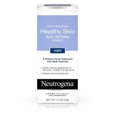 Walmart – Neutrogena Healthy Skin Anti-Wrinkle Cream Night With Retinol, 1.4 Oz. Only $11.72 (Reg $12.44) + Free Store Pickup