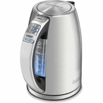 Walmart – Cuisinart PerfecTemp Cordless Electric Programmable Kettle CPK-17 Only $77.86 (Reg $185.00) + Free 2-Day Shipping