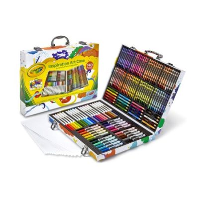 Walmart – Crayola Inspiration Art Kit, 140 Pieces with Crayons, Colored Pencils, Markers Only $19.97 (Reg $24.99) + Free Store Pickup