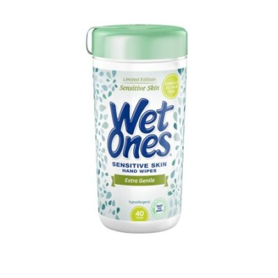 Walmart – Wet Ones Sensitive Skin Hand Wipes Canister – 40 Count Only $1.98 (Reg $2.22) + Free Store Pickup