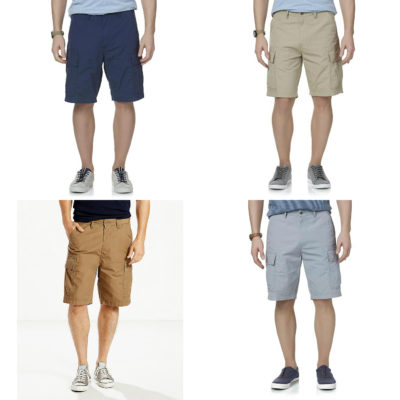 Sears – Levi's Men's Carrier Cargo Shorts Only $29.99 Through 06/03/17 (Reg $50.00) + Free Store Pickup