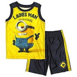 Sears – Illumination Entertainment Boys' Muscle Shirt & Athletic Shorts – Minions Only $10.00 Through 05/20/17 (Reg $20.00) + Free Store Pickup
