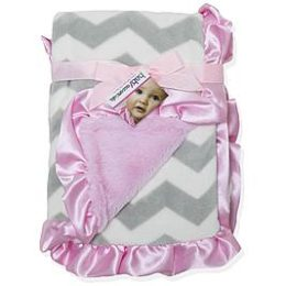 Sears – Baby Essentials Infant Girl's Plush Blanket – Chevron Striped Only $16.00 (Reg $20.00) + Free Store Pickup