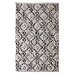 Kmart – Essential Home 5′ x 7′ Loop Diamond Area Rug – Neutral Only $60.00 (Reg $99.99) + Free Shipping