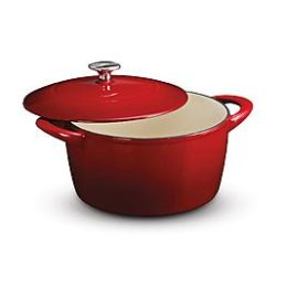 Sears – Kenmore 5.5-Quart Red Cast-Iron Dutch Oven with Lid Only $33.97 (Reg $79.99) + Free Store Pickup