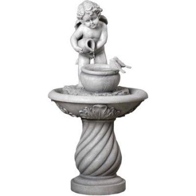 Walmart – Mainstays Cherub Fountain Only $79.99 (Reg $87.55) + Free 2-Day Shipping