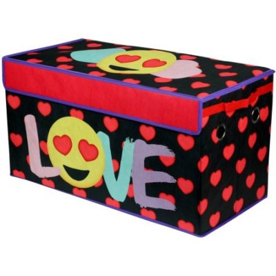 Walmart – EmojiPalls Love Oversized Collapsible Storage Toy Trunk Only $12.92 (Reg $18.00) + Free Store Pickup