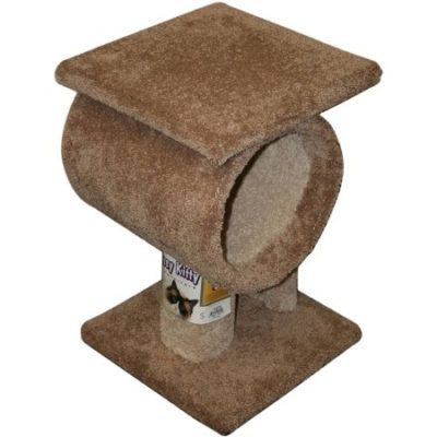 Walmart – Classy Kitty Tunnel Tower, 16″L x 16″W x 32″H Only $50.95 (Reg $88.99) + Free Shipping
