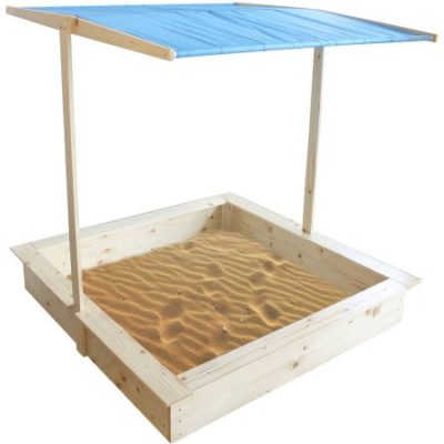 Walmart – Wood Sand Box with Canopy Only $87.99 (Reg $99.99) + Free Shipping