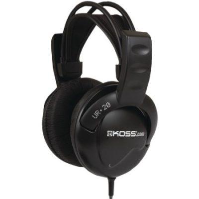 Walmart – Koss UR20 Full-Size Over-The-Ear Headphones, Black Only $16.88 (Reg $29.99) + Free Store Pickup
