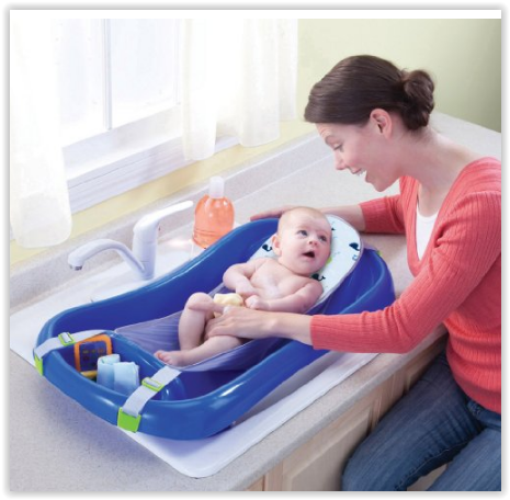Amazon – The First Years Sure Comfort Deluxe Newborn To Toddler Tub, Blue Only $12.87 (Reg $21.99)