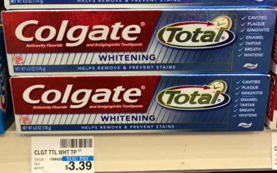 Hurry!! Print Your Coupons Now To Score Colgate Whitening Toothpaste For Only 49¢