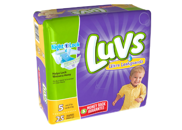 Luvs Diapers ONLY $2.97 Per Jumbo Pack at Walmart & Target (After Cash Back)