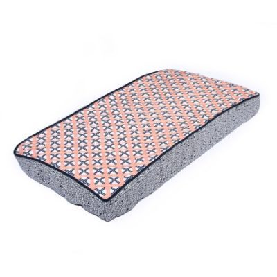 Walmart – Bacati – Noah Tribal Quilted Top 100% Cotton Percale with Polyester Batting Diaper Changing Pad Cover, Coral/Navy Dot/Cross Only $6.86 (Reg $21.05) + Free Store Pickup