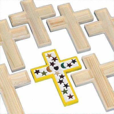 Walmart – Unfinished Wooden Cross Tile Trivet, Pack of 6 Only $12.82 (Reg $16.11) + Free Store Pickup