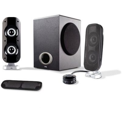 Walmart – Cyber Acoustics CA-3810 2.1-CH Powered Speakers Only $52.04 (Reg $79.99) + Free 2-Day Shipping