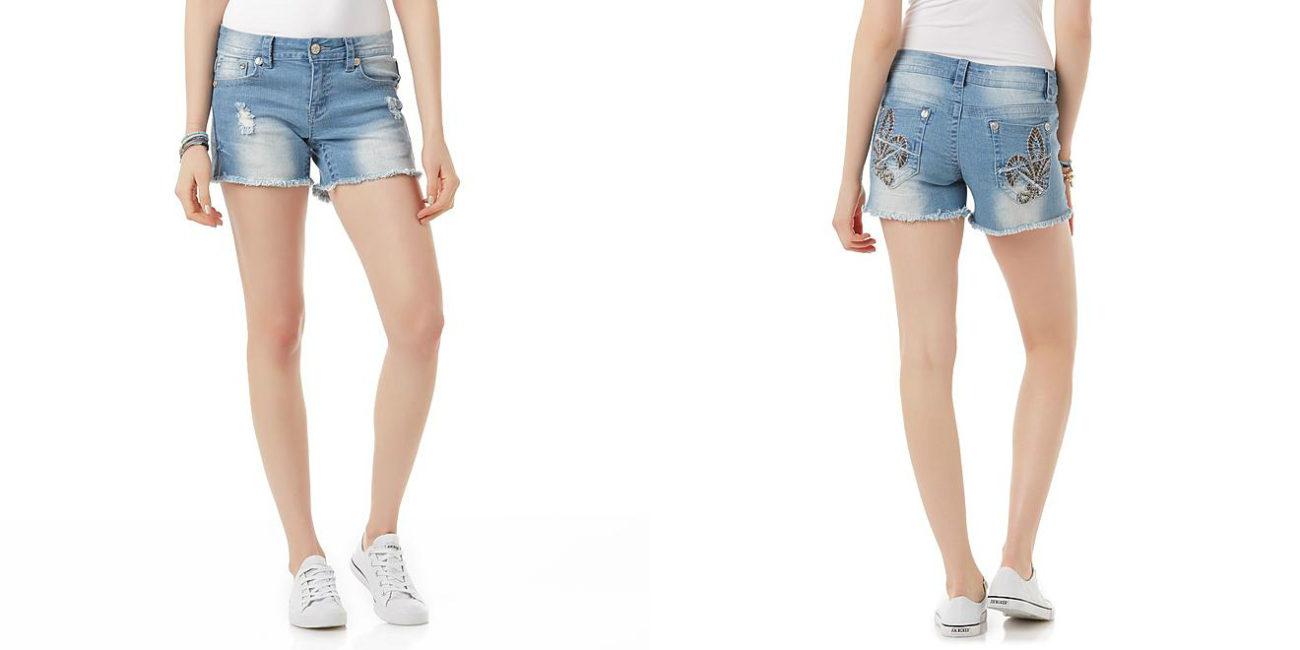 Sears – Rebel & Soul Junior's Embellished Denim Shorts Only $2.99 (Reg $42.00) + Free Store Pickup