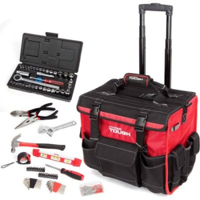 Walmart – HyperTough 174-Piece Tool Set with Trolley Bag Only $94.00 (Reg $119.00) + Free 2-Day Shipping