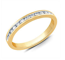 Sears – Tradition Diamond 1/4 Cttw. Certified Round 10k Yellow Gold Diamond Wedding Band – Size 7 Only Only $89.99 (Reg $599.99) + Free Shipping