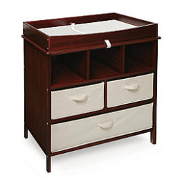Sears – Badger Basket 26002 Estate Baby Changing Table – Cherry Only $126.99 (Reg $149.99) + Free Shipping