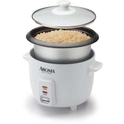 Walmart – Aroma 6-Cup Pot-Style Rice Cooker Only $10.88 (Reg $19.99) + Free Store Pickup