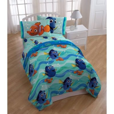 Walmart – Disney Finding Dory Bed in a Bag 5 Piece Twin Bedding Set with BONUS Tote Only $23.50 (Reg $39.98) + Free Store Pickup