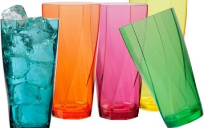 Walmart – Creative Bath Twist 24-Ounce Assorted Tumblers, Set of 10 Only $13.49 (Reg $17.89) + Free Store Pickup