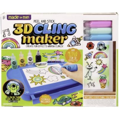 Walmart – Made By Me Peel and Stick 3D Cling Maker by Horizon Group USA Only $11.64 (Reg $22.90) + Free Store Pickup