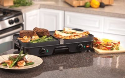 Walmart – Hamilton Beach 3-in-1 Grill/Griddle | Model# 38546 Only $37.99 (Reg $59.99) + Free 2-Day Shipping