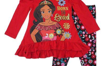 Sears – Disney Elena Of Avalor Girls' Ruffle Tunic & Leggings Only $4.99 (Reg $30.00) + Free Store Pickup