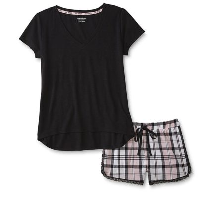 Kmart – Joe Boxer Women's Plus Pajama Shirt & Shorts – Plaid Only $16.79 Through 07/30/17 (Reg $20.99) + Free Store Pickup