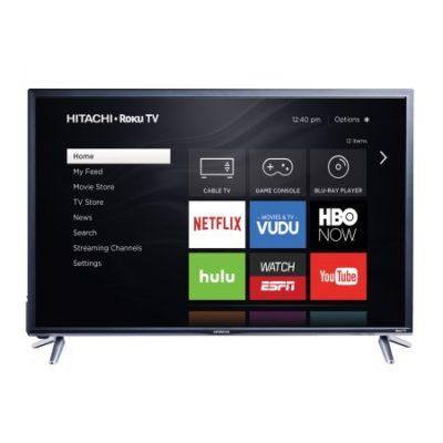 Walmart – Hitachi 43″ Class FHD (1080P) Roku Smart LED HDTV (43R5) Only $279.99 (Reg $499.99) + Free Shipping