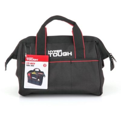 Walmart – Hyper Tough Black 12-Inch Zipper Tool Bag with Carry Handles Only $5.48 (Reg $9.98) + Free Store Pickup